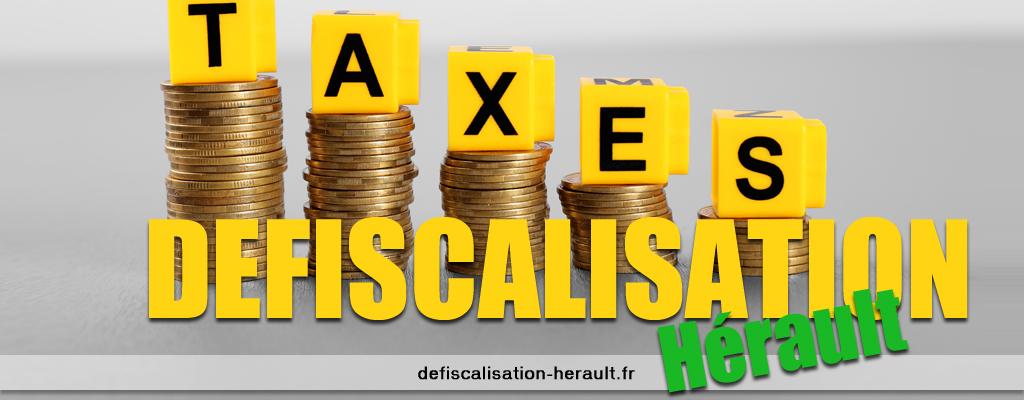 Defiscalisation herault